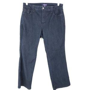 NYDJ Jeans 14WP Dark Straight Stretch Plus Petite